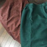 昔の母のスカート